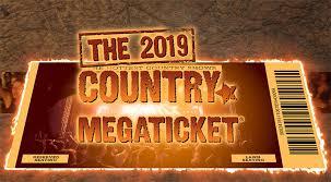 2019 Country Megaticket – PNC Bank Arts Center
